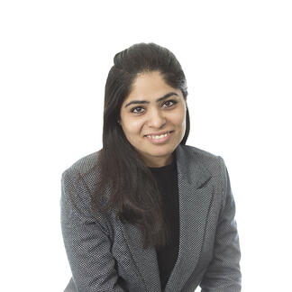 Priya Golani - Office Manager supporting a team of Toronto recruiters